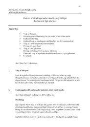 Referat af afdelingsmødet den 20. maj 2005 på ... - brohaven