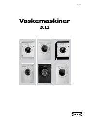 Vaskemaskiner - Ikea