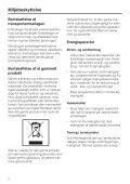 Brugsanvisning Miele vaskemaskine - Bredalsparken - Page 2