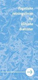 Brochuren Fagetiske Retningslinjer for diætister - Foreningen af ...