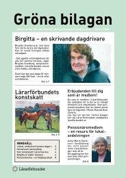 Gröna bilagan nr 1 2008 - Lärarförbundet