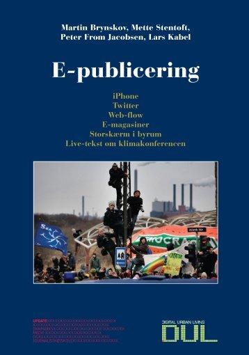 E-publicering - Kommunikationsforum