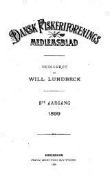 Dansk Fiskeriforenings Medlemsblad 1899 - Runkebjerg.dk