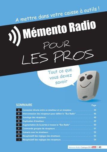 Memento Radio YOKIS
