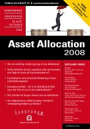 Asset Allocation - IBC Euroforum
