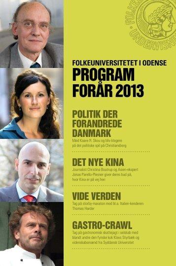 PROGRAM FORåR 2013 - fyensstift.dk
