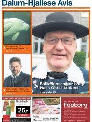 Folkedansen har bragt Hans Ole til Letland - Dalum-Hjallese Avis
