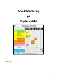 Affaldshåndtering på Rigshospitalet - VIP