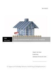 Den opmærksomme boligejers fremtid - IBC