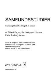 SAMFUNDSSTUDIER - Syntetisk tale