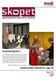 skopet uge 14-15 / 2007 - Hospitalsenhed Midt