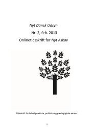 Nyt Dansk Udsyn - Velkommen til Nyt Askov
