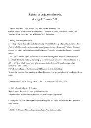 Læs referat fra d. 2. marts 2011 her - Faxe Kommunale Ungdomsskole