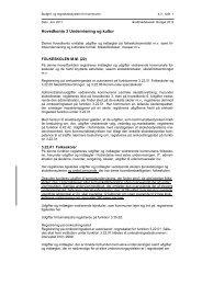 4.3 Undervisning og kultur - Budget- og regnskabssystemerne