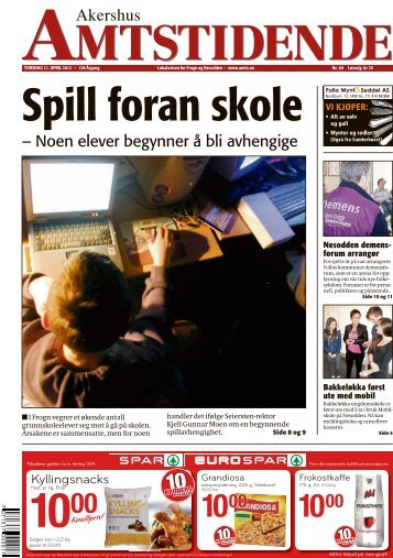 Akershus Amtsidende – Nå tekster de foreldre - Mobilskole