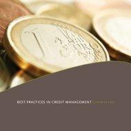 BEST PRACTICES IN CREDIT MANAGEMENT   JAARBOEk ... - Crion
