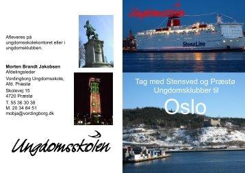 Tag med Stensved og Præstø Ungdomsklubber til