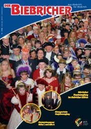 DER BIEBRICHER :: Ausgabe 218, Januar 2010 - Gerich