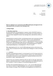 Notat om adgangen til ud- og afvisning af EU-/EØS ... - Ny i Danmark