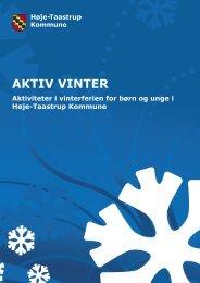 AKTIV VINTER - Høje-Taastrup Kommune