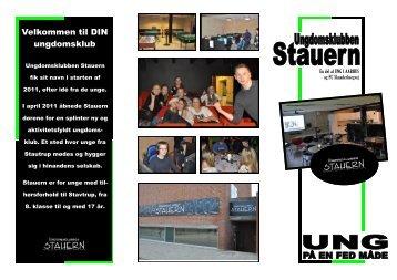 Velkommen til DIN ungdomsklub - Stautrup Fritidsklub