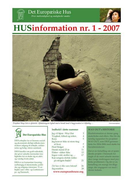 HUSinformation nr. 1 - 2007 - europeanhouse.org