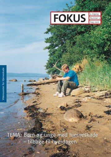TEMA: Børn og unge med hjerneskade – tilbage ... - Servicestyrelsen