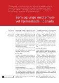 TEMA: Børn og unge med hjerneskade – tilbage ... - Servicestyrelsen - Page 6