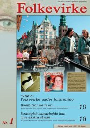 Medlemsblad - februar 2007 - Dansk Folkeoplysnings Samråd