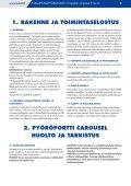 Polkupyöräpyöröportti, käyttäjän ohjekirja - Page 3