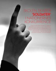 SKolen SKaber 'SOLDATER' I natIonerneS KonKurrence - PURE