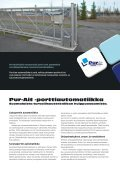 porttiautomatiikka pur-ait - Pur-Ait Oy - Page 2
