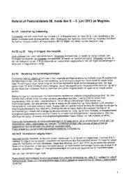 Referat fra Pastoralrådsmøde d. 8-9 juni 2013 - Den Katolske Kirke
