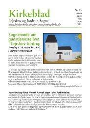 Kirkeblad - Lejrskov Kirke