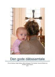 Den gode dåbssamtale - Haderslev Stift