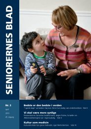 Seniorernes Blad 2 - 2010 - Pensionisternes Samvirke