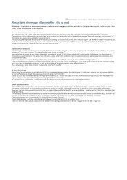 Artikler fra Frede Bräuner - Hadsund Skole