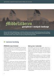 Middelalderen genoplevet i vestjysk landsogn af ... - Kirken Underviser