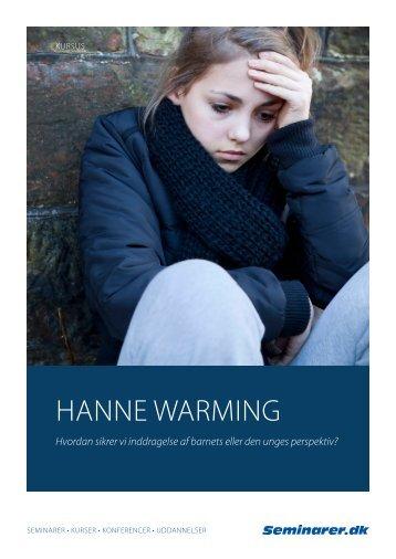 Hanne Warming (PDF) - Seminarer