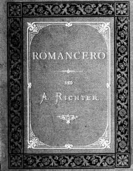 Romancero; spanske Folkerromancer i udvalg og oversaettelse