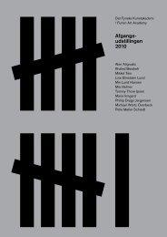 Download the Catalogue PDF - Afgangs-undstillingen 2010