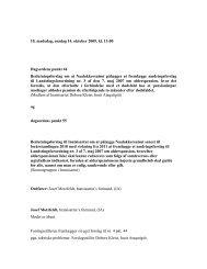 10. mødedag, onsdag 14. oktober 2009, kl. 13:00 ... - Inatsisartut