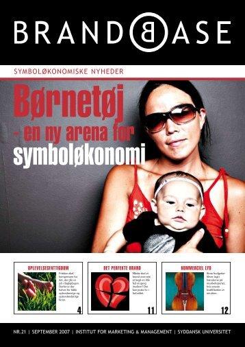 Symboløkonomiske Nyheder 21 - Brand Base
