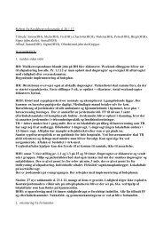 Referat af bestyrelsesmøde den 26. januar 2012