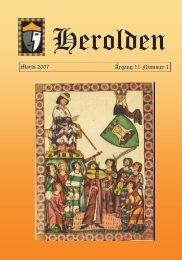 Marts 2007 Årgang 11 Nummer 1 - Herolden