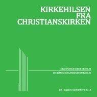 KIRKEHILSEN FRA CHRISTIANSKIRKEN