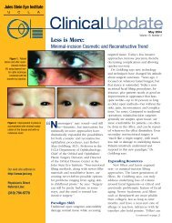 Clinical Update - Jules Stein Eye Institute