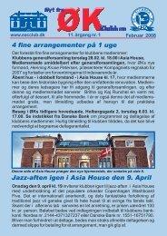 4 fine arrangementer på 1 uge Jazz-aften igen i Asia ... - ØK Klubben
