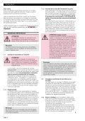 Notice de montage, d'utilisation et d'entretien - JR International - Page 4