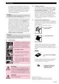 Notice de montage, d'utilisation et d'entretien - JR International - Page 5